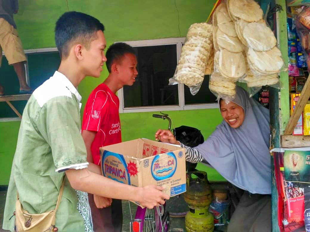 SMK N 3 Metro Peduli Bencana Tsunami Lampung dan Banten