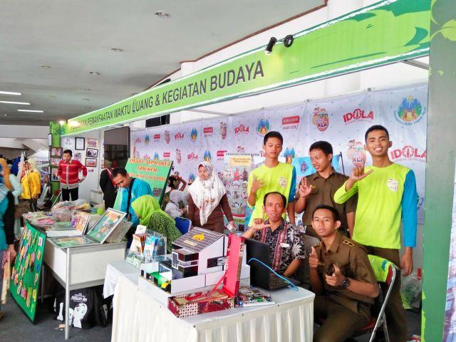 SMKN 3 Metro Ikuti Pameran Festival Kota Layak Anak