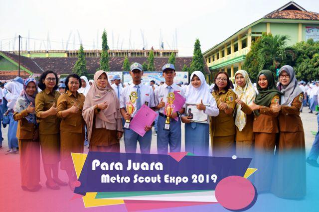 SMK NEGERI 3 METRO RAIH JUARA I PADA METRO SCOUT EXPO 2019